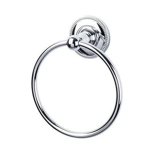 Top Knobs ED5A Edwardian Bath Ring - Beaded Backplate