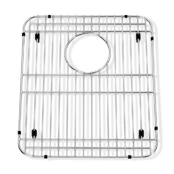 American Standard 8445.131500.075 Prevoir 13 x 15 Inch Bottom Grid Sink Rack in Stainless Steel