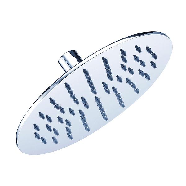 DANZE D460069 DRENCH 8 INCH ROUND SINGLE FUNCTION RAIN SHOWERHEAD, 1.75 GPM