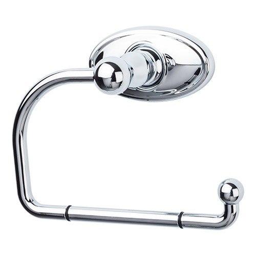 Top Knobs ED4C Edwardian Bath Tissue Hook - Oval Backplate
