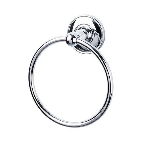 Top Knobs ED5D Edwardian Bath Ring - Plain Backplate