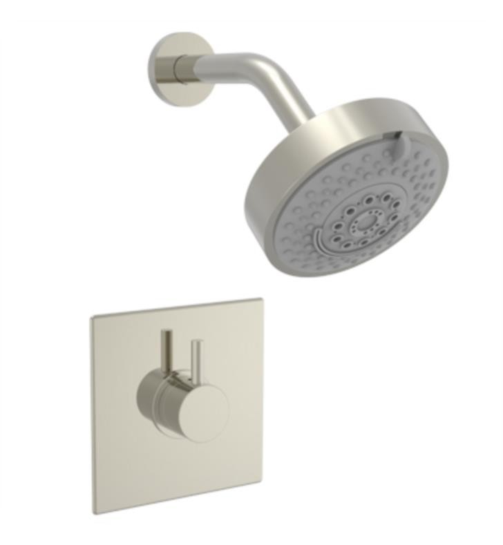 PHYLRICH 230S-24 BASIC II WALL MOUNT PRESSURE BALANCE SHOWER SET WITH LEVER HANDLE