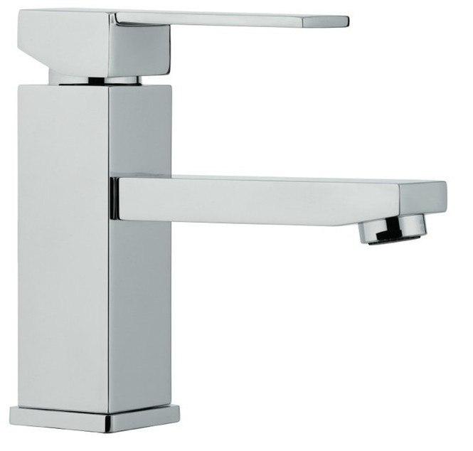 Moreno Bath AFB0117 Balzo Modern Single Handle Bathroom Sink Faucet in Chrome