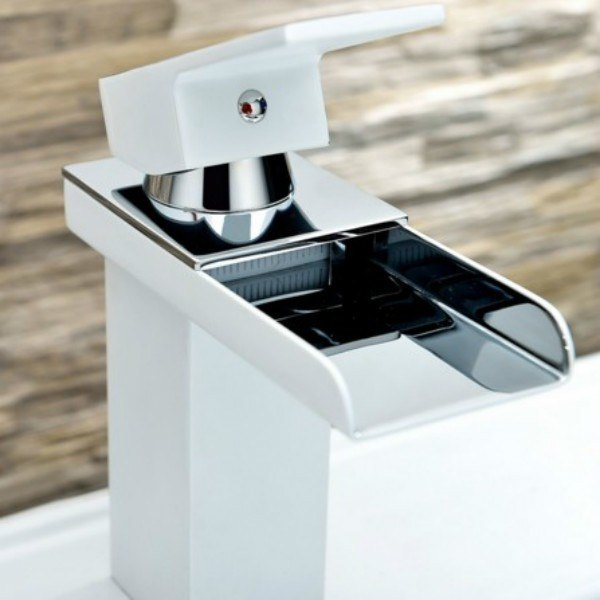 Moreno Bath AFB073 Balzo Modern Single Handle Bathroom Sink Faucet in Chrome
