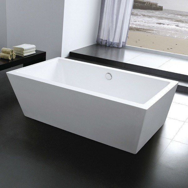 Moreno Bath FST0667 LAVAGGIO 67 Inch Free Standing Acrylic Bathtub with CUPC Approval