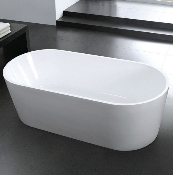 Moreno Bath FST1471 CLASSICO 71 Inch Free Standing Acrylic Bathtub with CUPC Approval