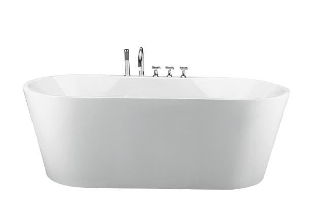 Moreno Bath JL601 67 Inch Massage Free Standing Bathtub