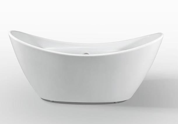 Moreno Bath JL634 67 Inch Free Standing Acrylic Bathtub