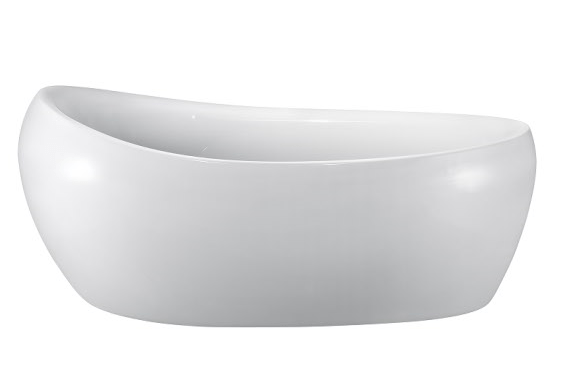 Moreno Bath JL649 69 Inch Free Standing Acrylic Bathtub