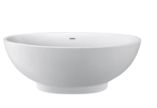 Moreno Bath JL650 66 Inch Free Standing Acrylic Bathtub