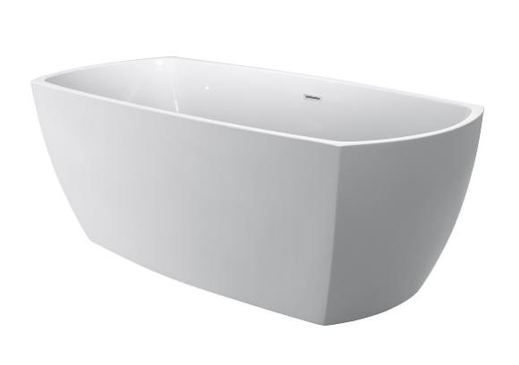 Moreno Bath JL655 69 Inch Free Standing Acrylic Bathtub