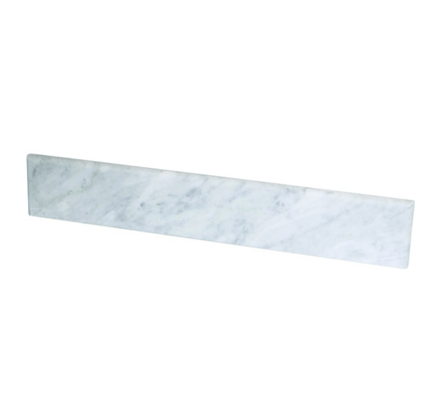 Native Trails VNTB606 Natural Mable 60 Inch Vanity Backsplash in Carrara