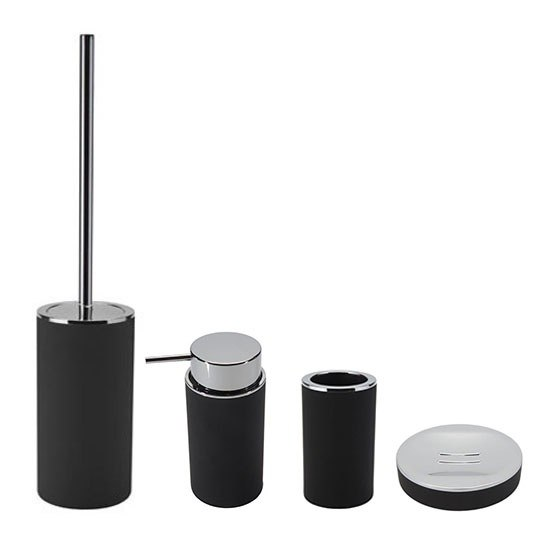 GEDY LU100-14 LUNA MODERN BATHROOM ACCESSORIES SET