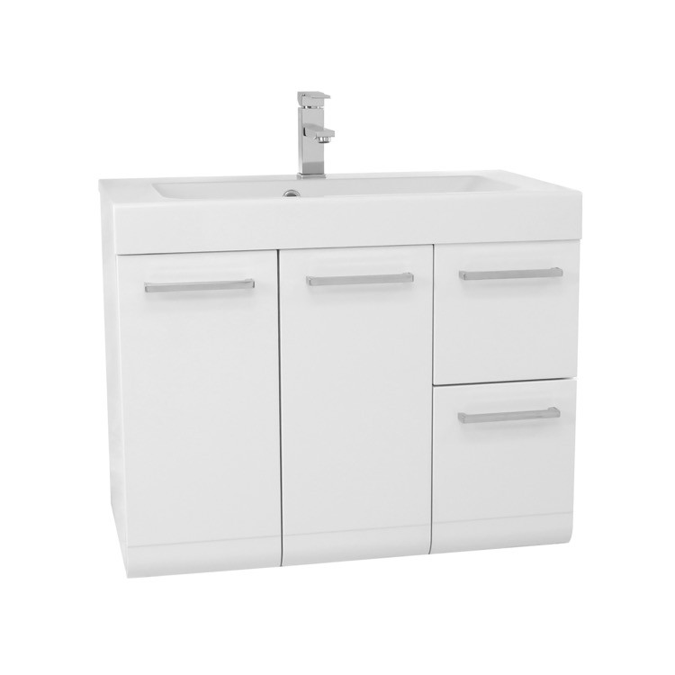 IOTTI MC LINEAR COLLECTION 30.4 INCH VANITY WITH INTEGRATED SINK