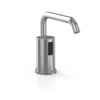 TOTO TES100DA#CP POLISHED CHROME DECK MOUNTED SENSOR OPERATED SOAP DISPENSER - BATTERIES INCLUDED