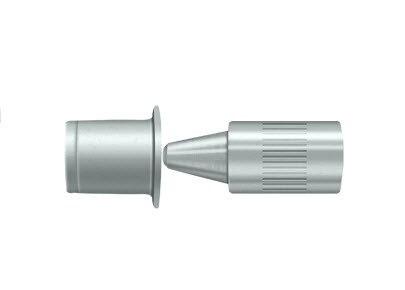 Deltana 44368 Door Mounted Hinge Pin Stop Solid Brass