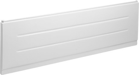 Duravit 701039000000000 D-Code Front Panel for 59 Inch Length Bathtubs, White