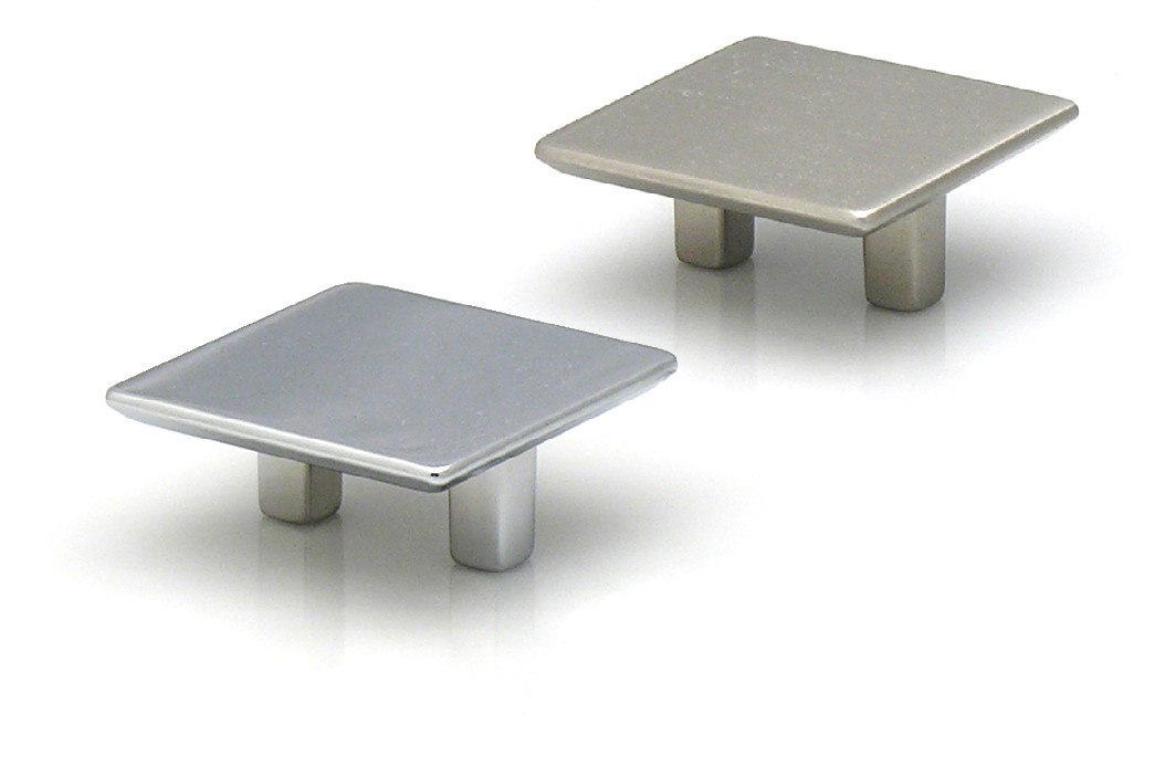 Topex 8-1045003240 Medium Size Square Pull 1 1/4 Inches (32mm) Polished Chrome