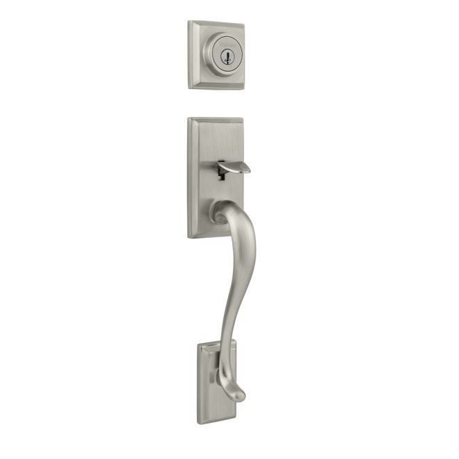 KWIKSET 800HELIPS SIGNATURE SERIES HAWTHORNE SINGLE CYLINDER SECTIONAL HANDLESET WITH SMARTKEY, EXTERIOR ONLY