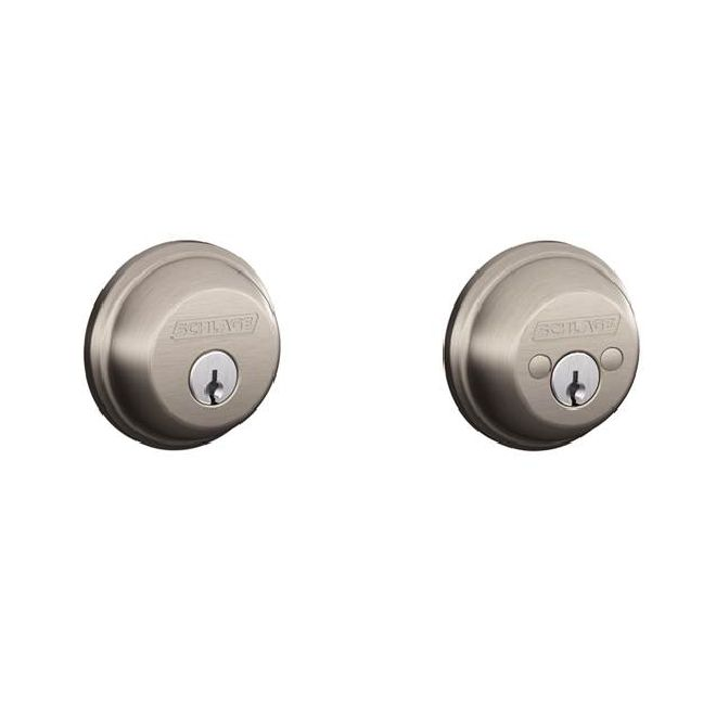 Schlage Residential B62 B Series Deadbolt Double Cylinder
