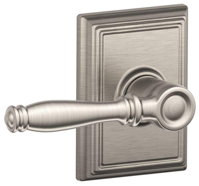 Schlage Residential F10BIRADD F Series Birmingham with Addison Rose Passage Door Locks