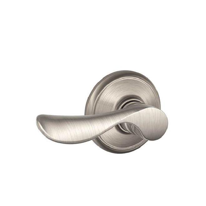 Schlage Residential F10CHP F Series Champagne Passage Door Locks