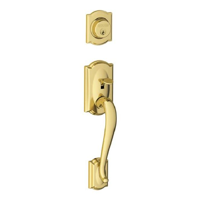 Schlage Residential F58CAM F Series Camelot Door Lock Handlesets