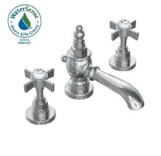 Jado 845/003/144 Savina Widespread Lavatory Faucet Cross Handles - Brushed Nickel