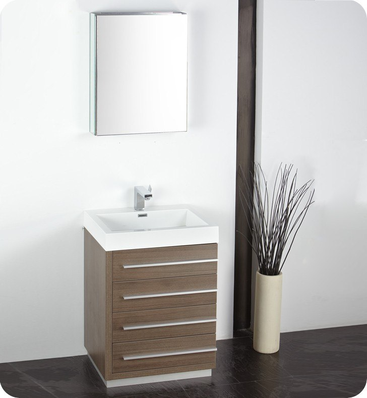 best place to buy mirrors for bathrooms fresca fvn8024go livello 23 38 inch gray oak modern 25964