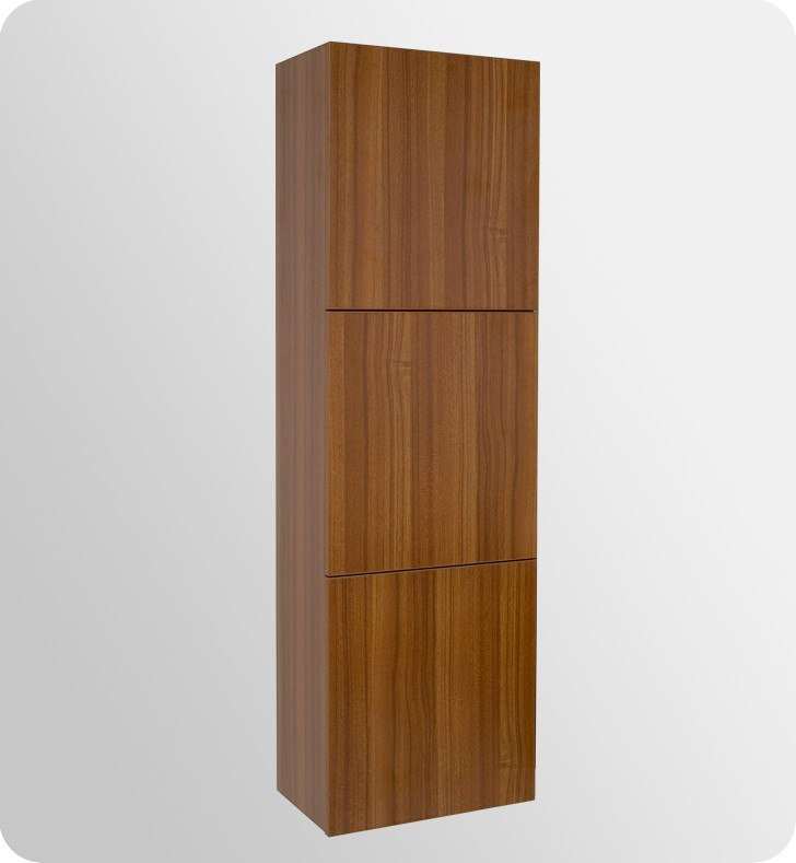 Fvn8040tk Largo 56 63 Inch Teak Modern Bathroom Vanity W