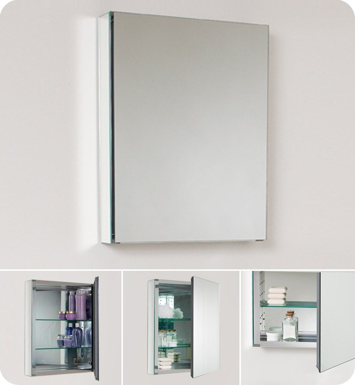 Fresca Fmc8058 Small 19 5 Inch Wide Bathroom Medicine Cabinet W