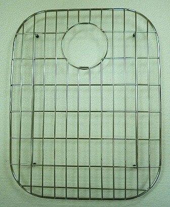 Ukinox GR376SS 17 Inch x 13 Inch Stainless Steel Bottom Grid