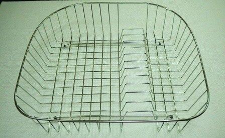 Ukinox RB537SS 18 Inch x 20 Inch Stainless Steel Rinsing Basket