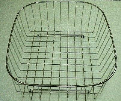 Ukinox RB345SS 15 Inch x 13 Inch Stainless Steel Rinsing Basket