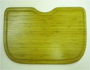 Ukinox CB537HW 12 Inch x 22 Inch Wood Cutting Board