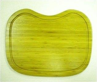 Ukinox CB345HW 10.75 Inch x 14.5 Inch Wood Cutting Board