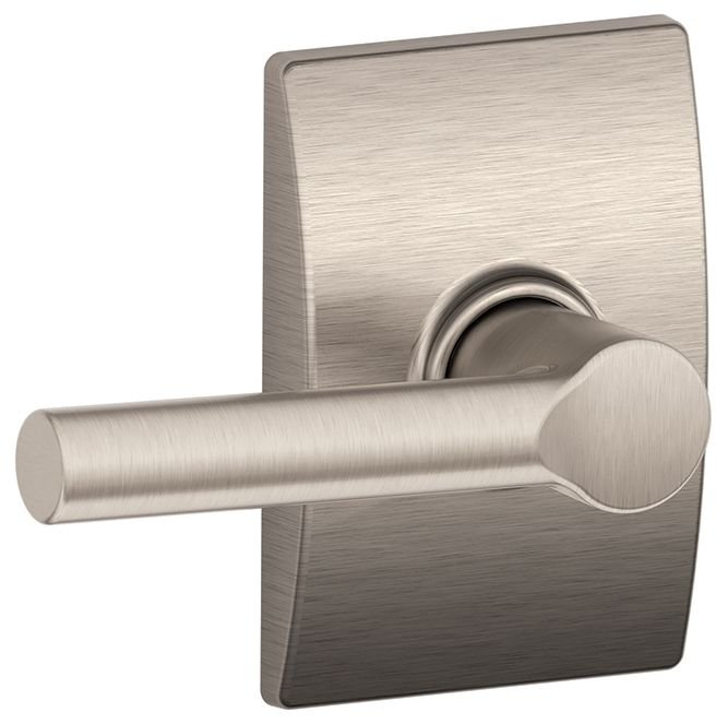 Schlage Residential F10BRWCEN F Series Broadway with Century Rose Passage Door Locks