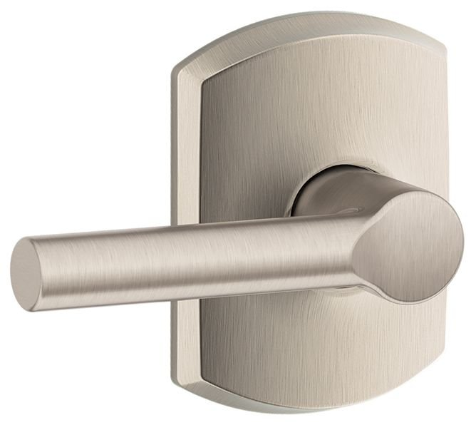 Schlage Residential F10BRWGRW F Series Broadway with Greenwich Rose Passage Door Locks