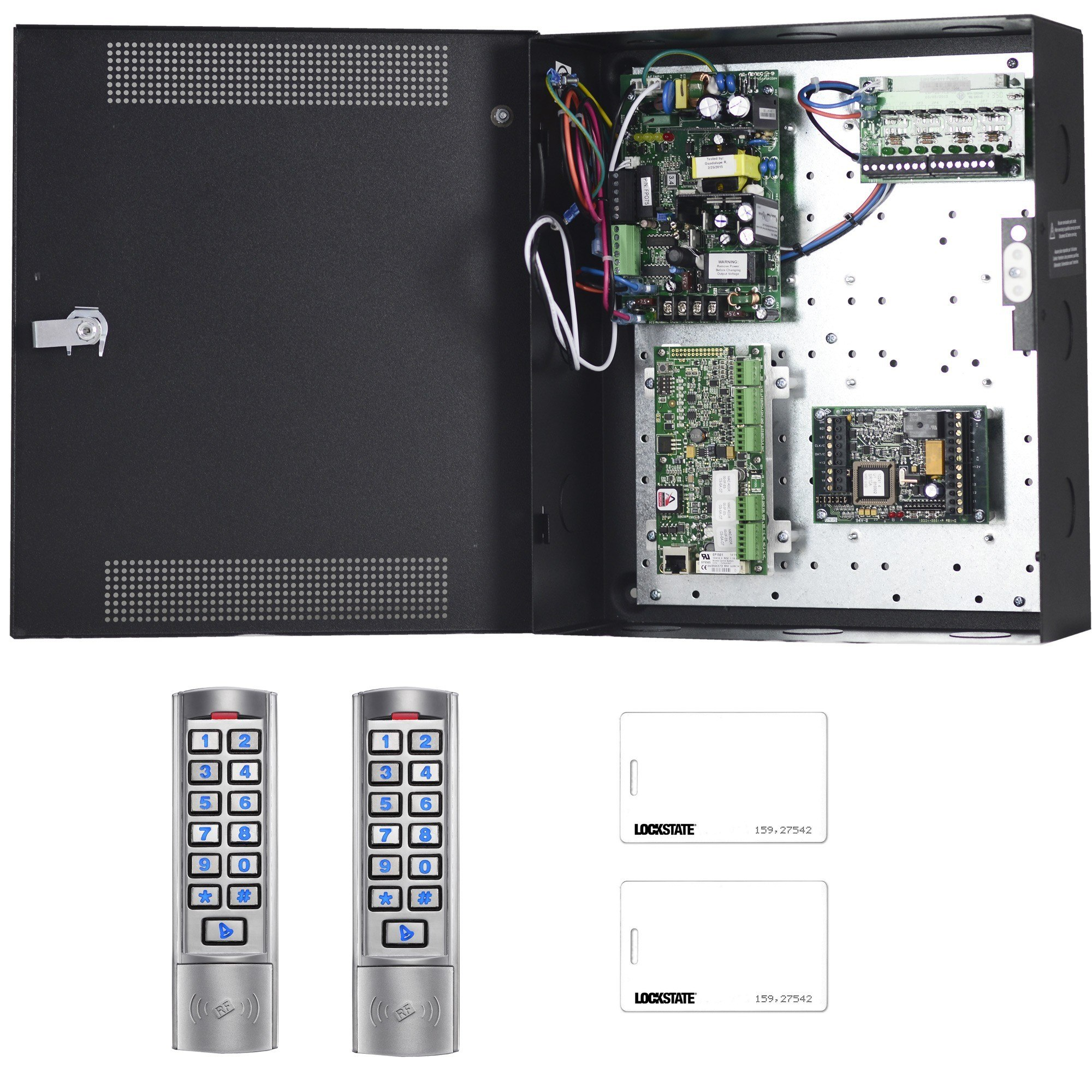 LOCKSTATE LS-ACS2KIT ACCESS CONTROL KIT WITH READERS 4 DOOR