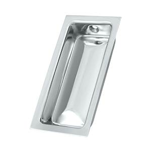 DELTANA FP227 FLUSH PULL LARGE 3 5/8 INCHES X 1 3/4 INCHES X 1/2 INCHES