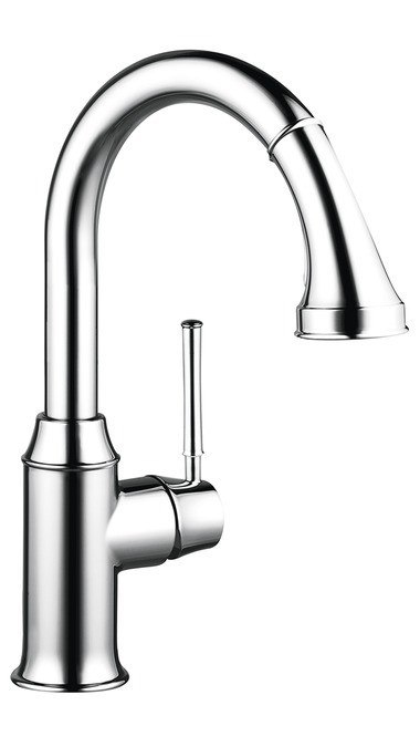 HANSGROHE 04216 TALIS C PREP FAUCET WITH PULL DOWN 2 SPRAYS