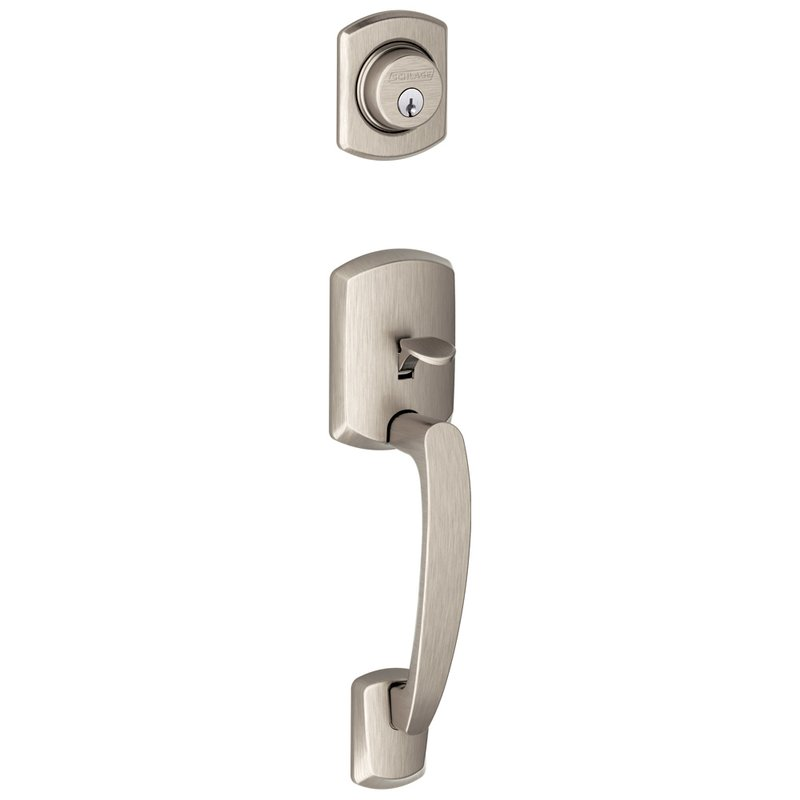 Schlage Residential F92GRW F Series Greenwich Door Lock Handlesets