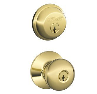 Schlage Residential FB50PLY605 FB Series Plymouth Combo Door Locksets