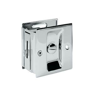 DELTANA SDL25 POCKET LOCKS 2 1/2 INCHES X 2 3/4 INCHES PRIVACY