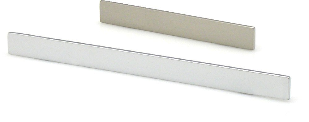 TOPEX 8-1079012834 THIN PROFILE PULL 5 INCHES (128MM) POLISHED SATIN NICKEL