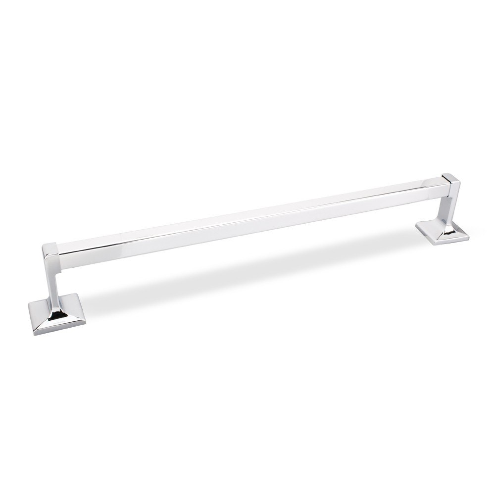 HARDWARE RESOURCES BHE1-03PC ELEMENTS BRIDGEPORT COLLECTION TRADITIONAL 18 INCH TOWEL BAR