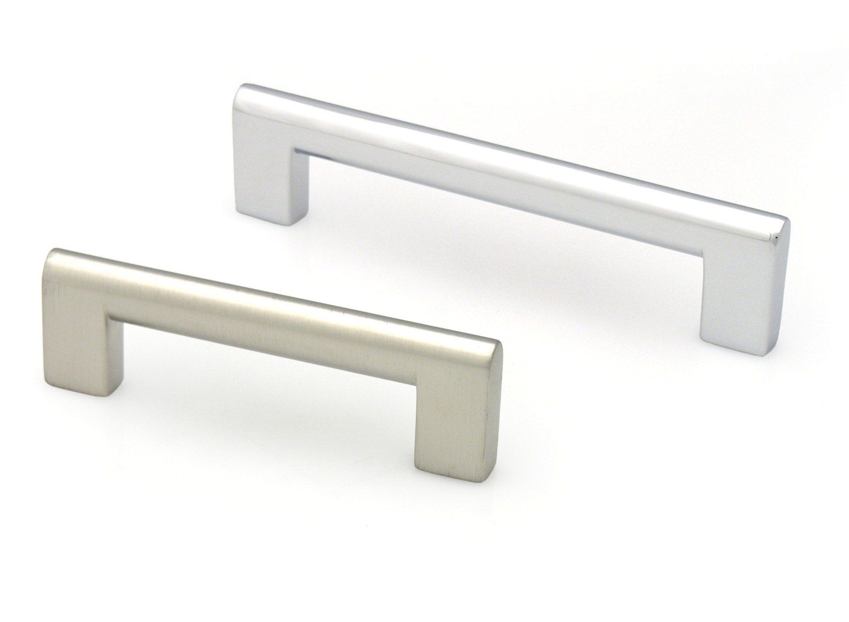 TOPEX Z01120960041 FLAT EDGE PULL 3 3/4 INCHES (96MM) BRIGHT CHROME