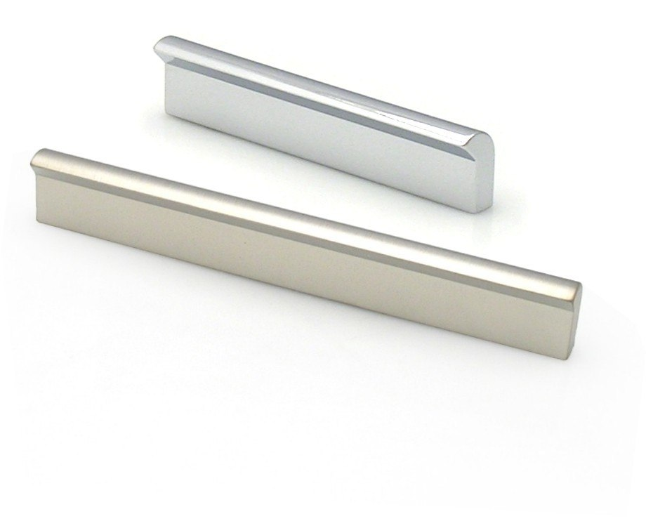 TOPEX Z40241280067 PULL PROFILE CENTERS 5 INCHES (128MM) BRUSHED NICKEL