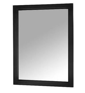 Foremost AUBM2330 Auguste  Black Finish Collection 23-1/2 Inch Black Mirror
