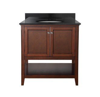 Foremost AUCNV3022 Auguste Chestnut Collection 30 Inch Vanity (no Top)
